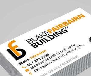 Blake Fairbairn Building Branding Image