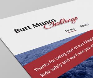 Burt Munro Challenge Website Image