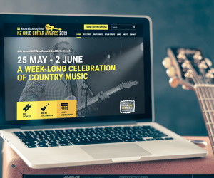 NZ Gold Guitar Awards Website Image