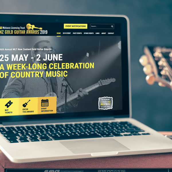 NZ Gold Guitar Awards Website Image 1