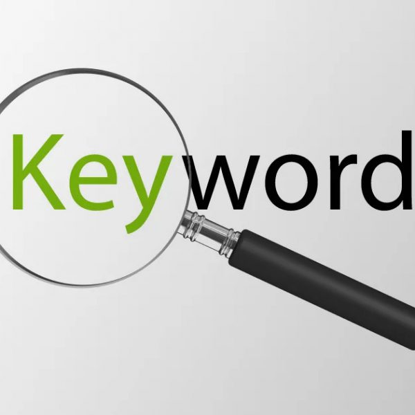With keywords, the right words are key! Image