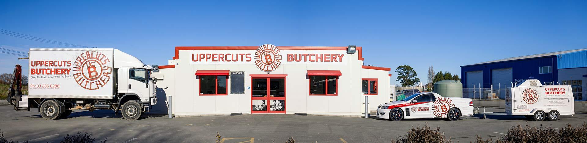 Uppercuts Butchery Banner Image